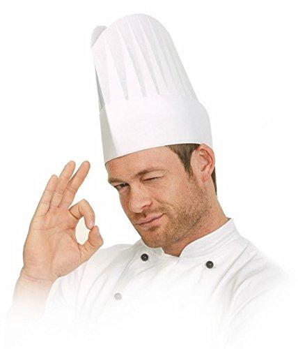 Cappello da cuoco Excellent AUS plissiertem speciali di carta crespa – 10  pezzi 2ccef9fefe61