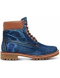 Timberland Zapatos de Cordones Ekhoksthand Ox Rojo EU 42 (US 8.5)
