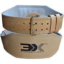 """3X Professional Choice Cuero 4"""" Musculacion Peso Cinturones Pesas Levantamiento Entrenamiento Gimnasio Cinturón"""