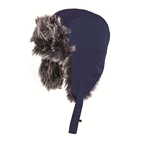 Highlander Girls Polyester Warm Snowsport Bomber Faux Fur Hat