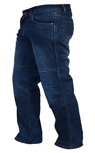 Juicy Trendz Hombre Motocicleta Pantalones Moto Pantalón