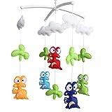 Bettwäsche Rattle Spielzeug, Baby-Geschenk, Säuglingsbett Bell-[Baby-Dinosaurier