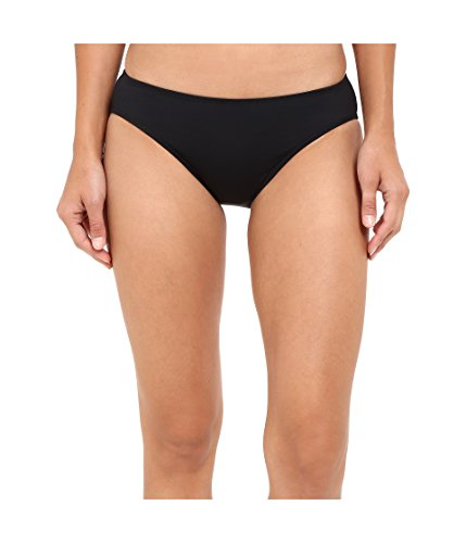 Lauren Raph Lauren Damen Chevron Solid Hipster Bottom Black 14 (Hosen Lauren Stretch Ralph)