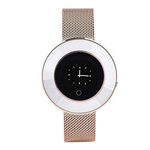 VBESTLIFE Damen Smartwatch,Microwear X6 Bluetooth IP68 Wasserdichte BT Smart Armband für Laufen, Laufen, Wandern, Radfahren, Schwimmen, Yoga usw.