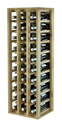 Botellero vino Almacenamiento estante Botellero almacenar 30botellas de vino Botelleros
