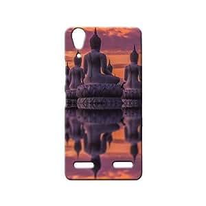 BLUEDIO Designer 3D Printed Back case cover for Lenovo A6000 / A6000 + - G6433