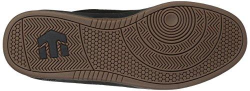 Etnies Scam, Chaussures de Skateboard Homme, Navy White Gum Noir (Black/black/gum)