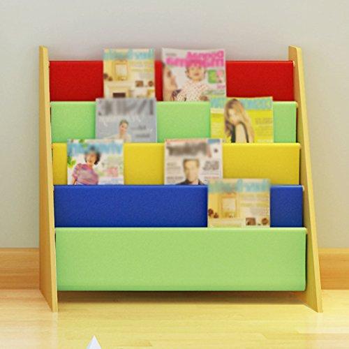Estantería 62.7 (W) * 28 (D) * 60 (H) Cm Estante de almacenamiento de juguetes Estante de libros Estante de almacenamiento de juguetes