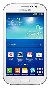 Samsung Galaxy Grand Neo Smartphone USB/Wi-Fi Android 4.2.2 Jelly Bean 8 Go Blanc