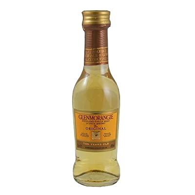 Glenmorangie 10 year old Single Malt Whisky 5cl Miniature from Glenmorangie