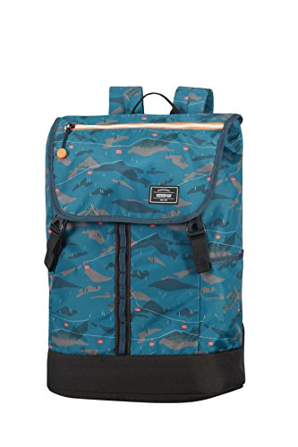 American Tourister Urban Groove Lifestyle Laptop 3 15.6 Zoll Rucksack, 27.5 Liter, Camo Cartoon -
