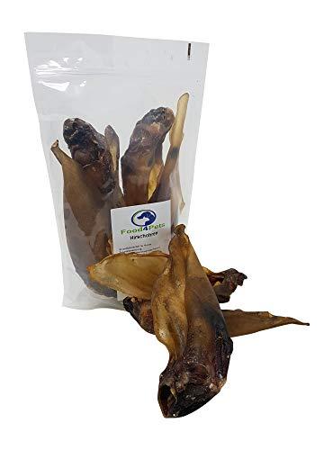 Food4Pets Hirschohren Hundeleckerli - Kausnack vom Hirsch -