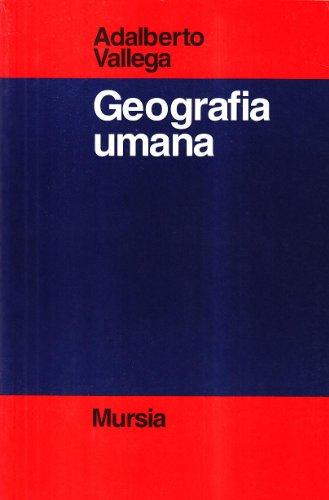 Manuale di geografia umana