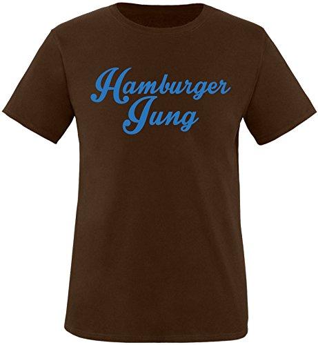 EZYshirt® Hamburger Jung Herren Rundhals T-Shirt
