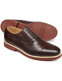 Brown Oxford Shoe by Charles Tyrwhitt