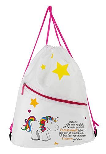 Gym Bag Einhorn Einhorn mit Spruch - EIN Musthave für kleine und große ()