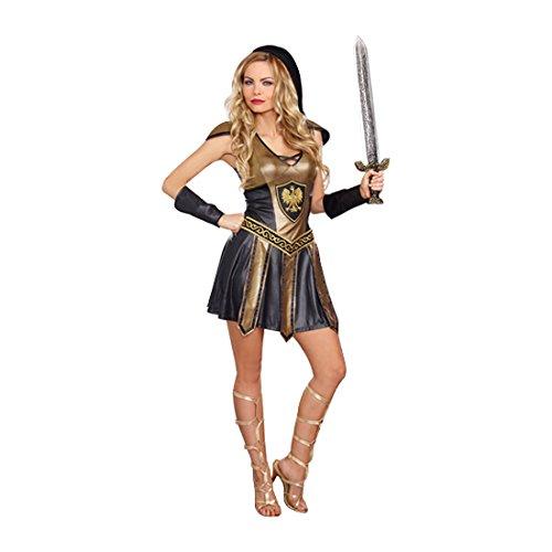 Dreamgirl 10273Deadly Warrior weiblich Kostüm (Amazon Kostüm Woman Warrior)