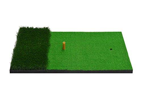 ZHANG MEI Golfmatte Golf Strike Matte Indoor Swing Gymnastikmatte Golf Swing Swing Trainer (Größe: 40 * 70cm, Verpackung von 1) Grün (Golf Swing-matte)