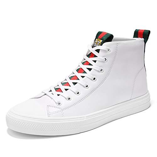 Ttrr scarpe alte da uomo scarpe casual da uomo versione coreana del trend di scarpe bianche da uomo piccole scarpe