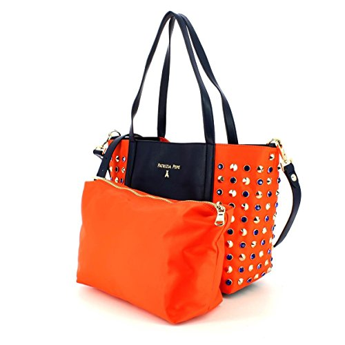 Borsa Shopping Bag PATRIZIA PEPE Rosso
