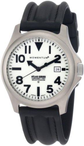 Momentum - 1M-SP00W1 - Montre Homme - Quartz Analogique - Bracelet Caoutchouc Noir