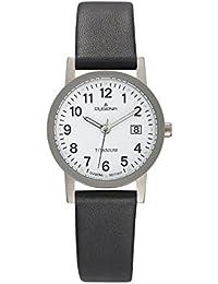 Dugena Damen-Armbanduhr Titanuhren Analog Quarz Titan 4460327