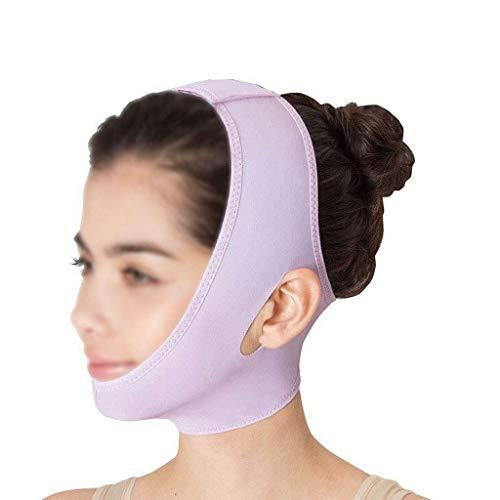 CY Dünne Gesichtsbinde, Atmungsaktive Und Bequeme Schlafstrahl-Gesichtsmaske Verbesserte Doppelkinn-Stretchmaske, Erstellen Sie Ein Kleines V-Gesicht