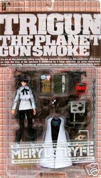 Meryl Stryfe Trigun The Planet Gunsmoke Manga Action Figur Kaiyodo Cap Guns St