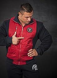 BIG SAM SweatJacket Sweater Sweatshirt Hoody UNCLE BODY DOG LOGO *3599*
