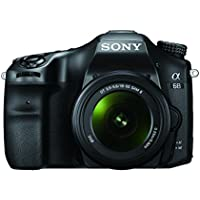 Sony Alpha 68K Interchangeable Lens Camera with 18-55 mm Zoom Lens (A mount, APS-C Sensor, 4D Focus, 79 Points Phase Detection) - Black