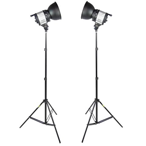 DynaSun 2x QL1000 1000W Kit d'éclairage Studio Photo Vidéo Torche