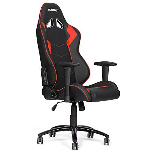 Compare Prices for AK Racing Octane Gaming Chair, Faux Leather, Black/Red Special