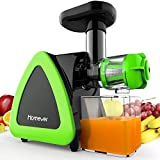 Best Masticating Juicers - Juicer, Homever Slow Masticating Juicer Machines Extractor Review