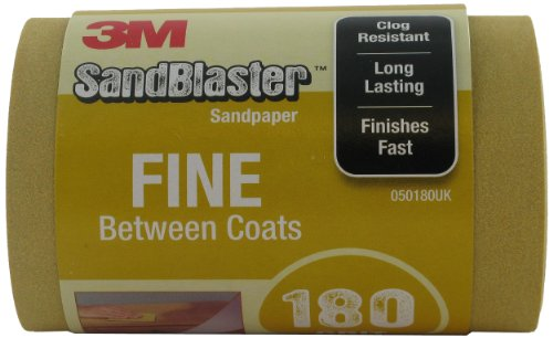 3M 025180UK SandBlaster - Rollo papel lija 115 mm