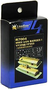 Lion Roar Rugido del león R7004 - Modelo Accesorios WWII USN Barcazas 1 YF390 YF959 y