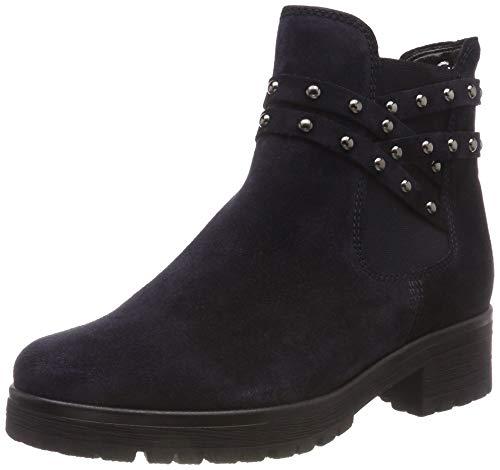 Gabor Shoes Damen Comfort Sport Stiefeletten, Blau (Nightblue (Mel.) 36), 39 EU