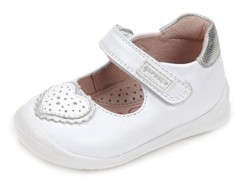 Garvalín 172310, Bailarinas Bebés, Blanco White/Sauvage