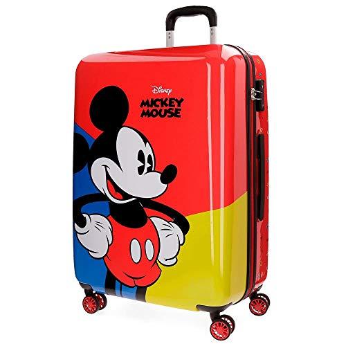 Disney Mickey Red Equipaje Infantil