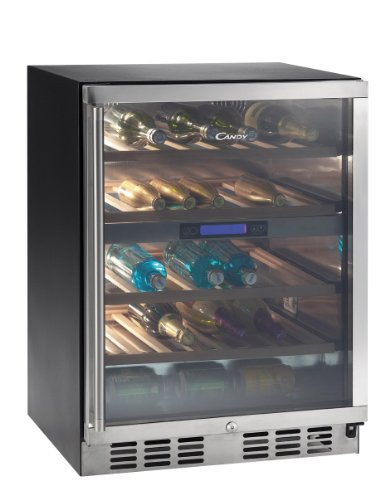 Candy CCVB 120 – Wine Coolers 289 (Freestanding, Black, 4 – 18 °C, Stainless Steel,...