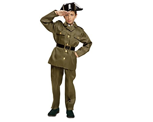 My Other Me - Disfraz de Guardia civil, talla 7-9 años (Viving Costumes MOM00916)