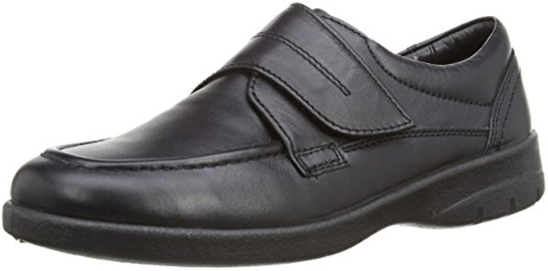 Padders Lunar 636N - Zapatos de Cordones para Hombre, Negro, 42