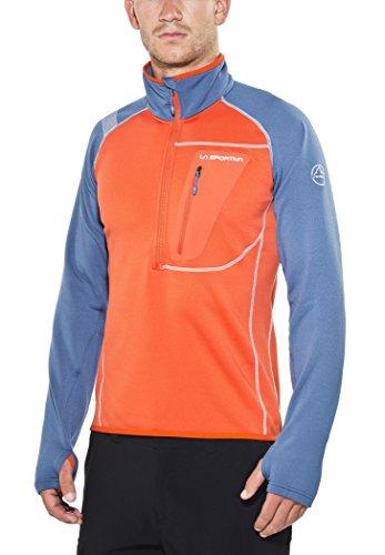 La Sportiva Enterprise - Sweat-shirt - orange/bleu Modèle XL 2016 sweatshirt