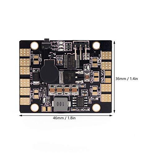 Summer-Spider Summer Spider 2 BEC LED Lichtsteuerung Tracker Niederspannungsalarm Verteilungsmodul (Low-voltage-verkabelung)