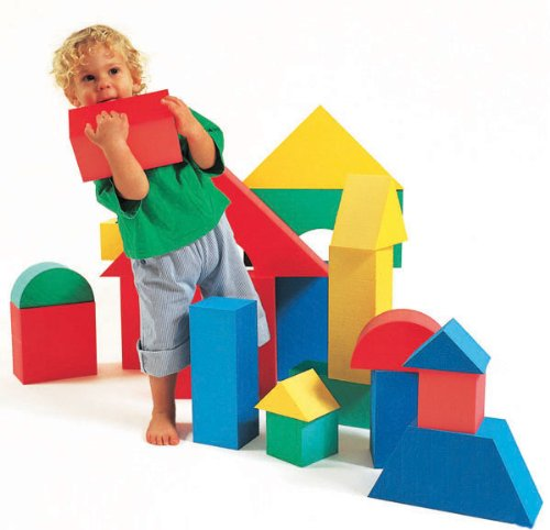 Edushape-Giant-Foam-Blocks-Construction-Toy-16-pcs