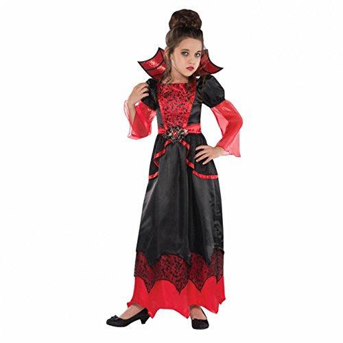 Christy's Kostüm Königin der Vampire für Mädchen, 4-6Jahre (Vampir Königin Kind Halloween Kostüm)