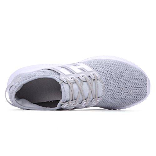 Das neue Laufschuhe Sportschuhe Atmungsaktiv Tragbar Freizeit Mode Ausbildung Reiseschuhe gray
