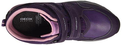 Geox Unisex Adulti J Orizont B Ragazza Abx F Snow Boots Viola (viola)