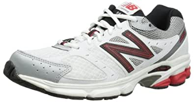 New Balance Mens Running Shoes M560WR3 White/Red 11 UK