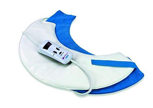 Almohadilla termica cervical - tamaño 45 x 25 cm - potencia 40 w - esterilla electrica térmica para cuello y espalda zona superior - manta eléctrica