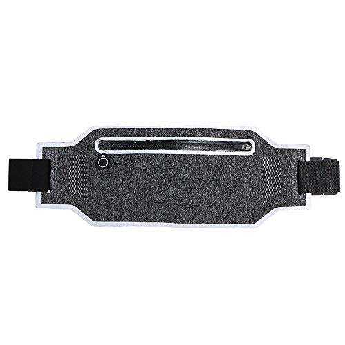 DFVmobile - Cycling Case Running Waist Pack Waterproof Fanny Pack Pouch Belt Bag for Motorcycle Bike and Other Sports for HTC Harrier, XV6600 - Grey
